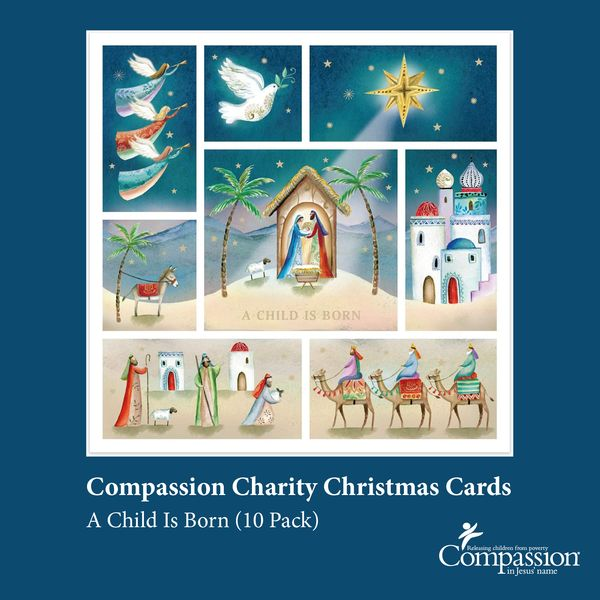 Compassion Charity Christmas Cards
