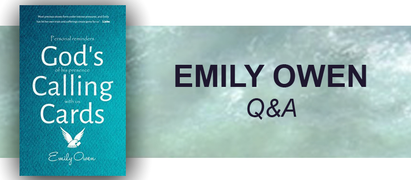 Q&A with Emily Owen, Author of God's Calling Cards
