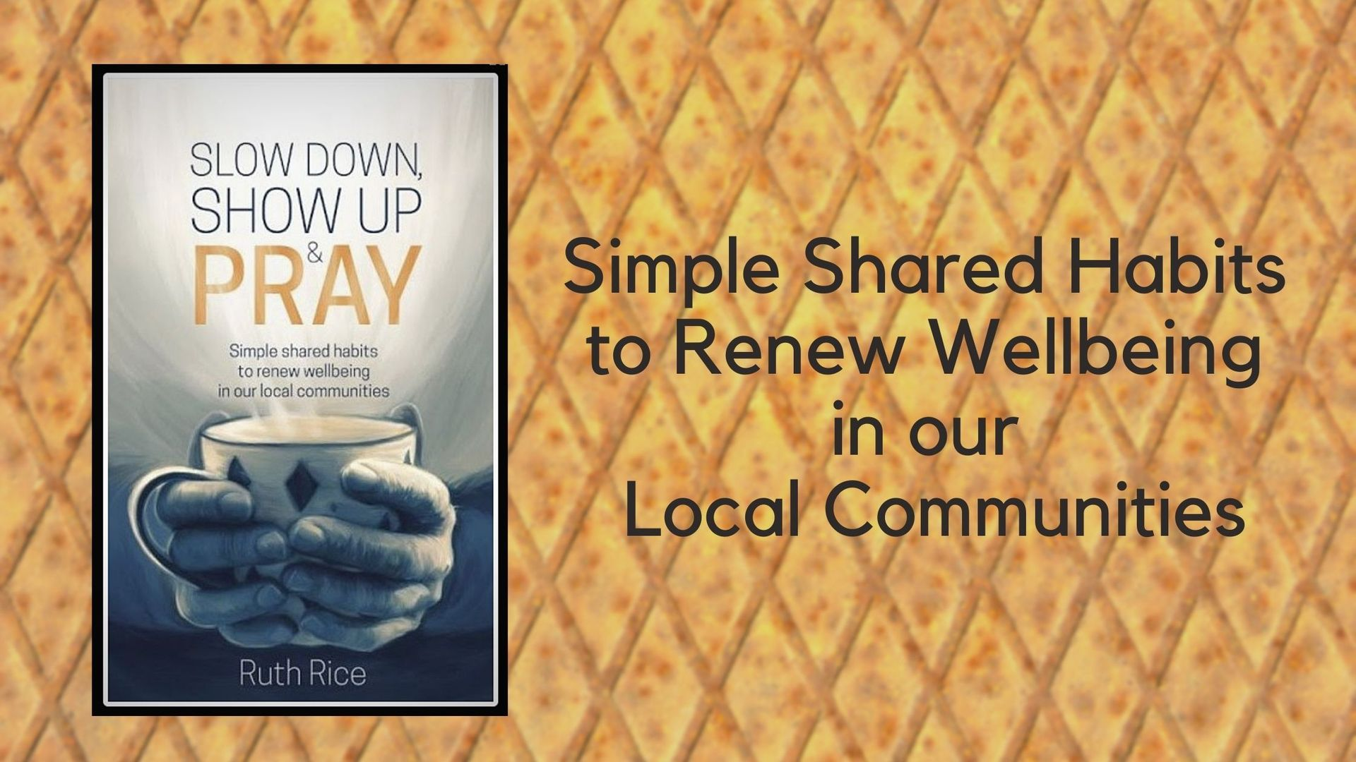 New release from Authentic Media 'Slow Down, Show Up and Pray'