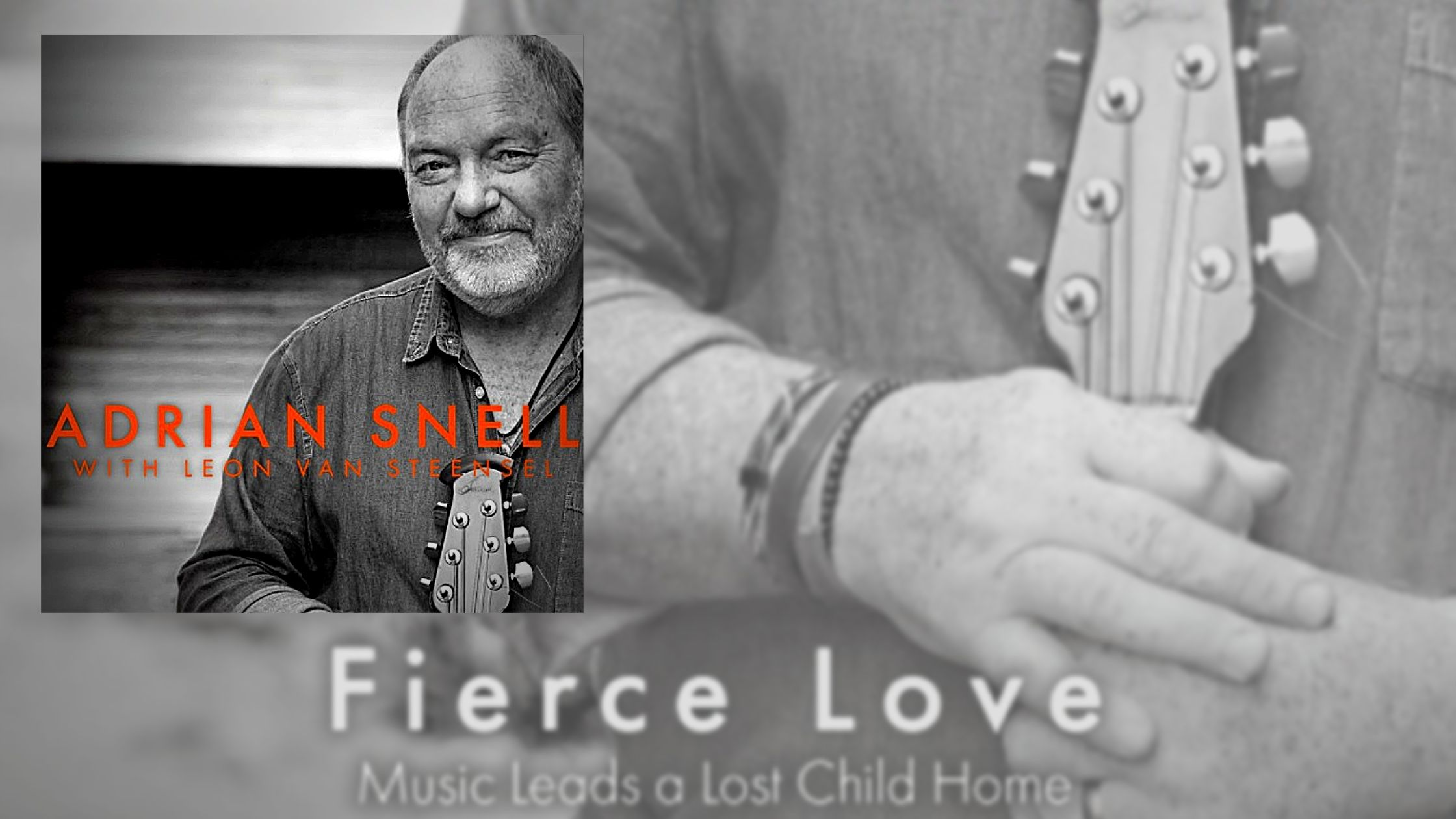 Fierce Love: Music Leads a Lost Child Home - a book that chronicles the life and music of Adrian Snell