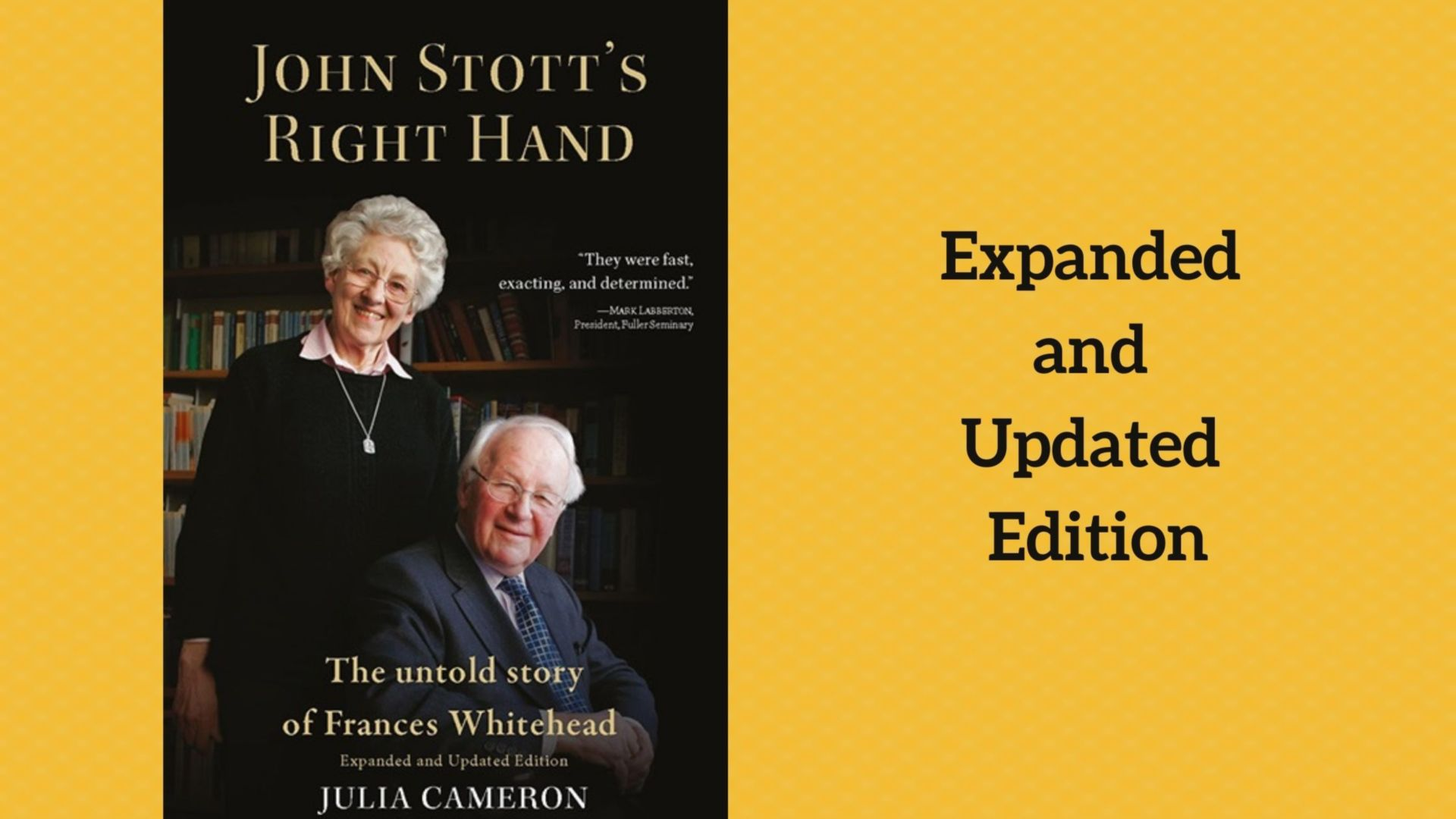 Expanded and updated version of the book John Stott's Right Hand