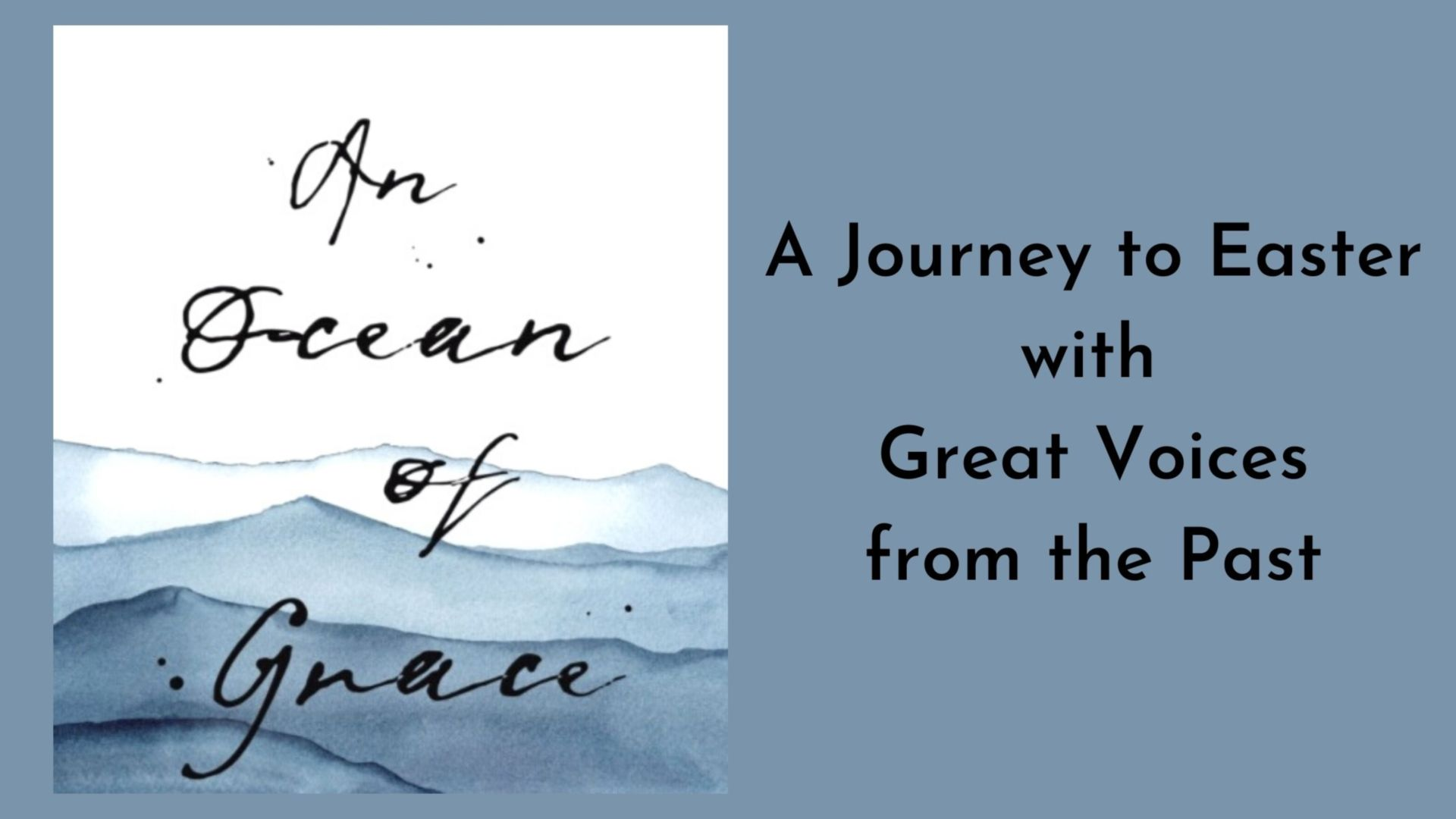 An Ocean of Grace - a new book by Tim Chester
