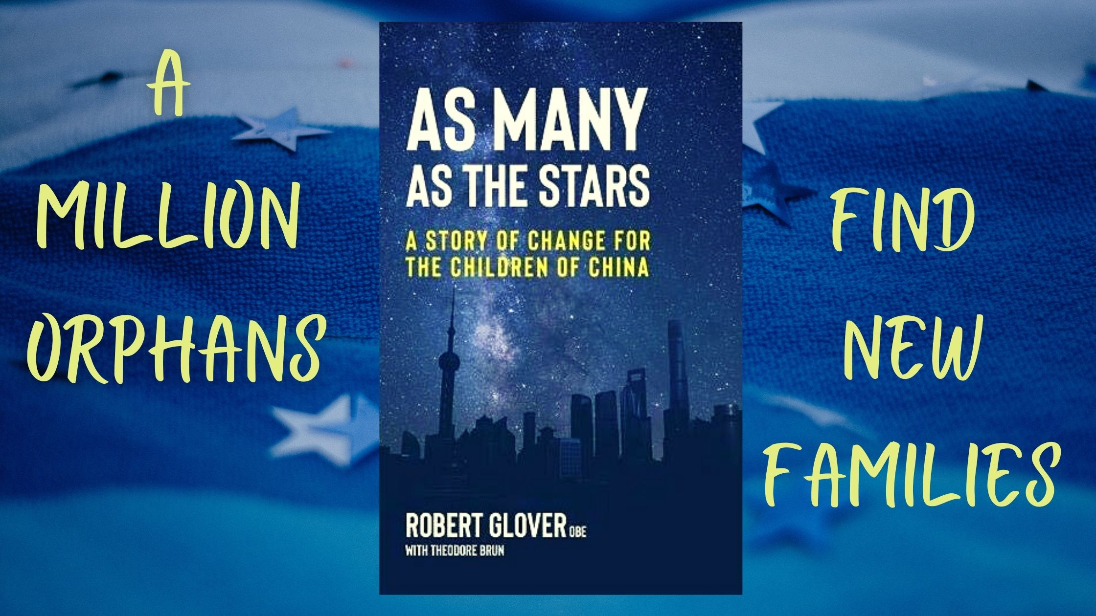 The author's story which led to the book 'As Many as the Stars'