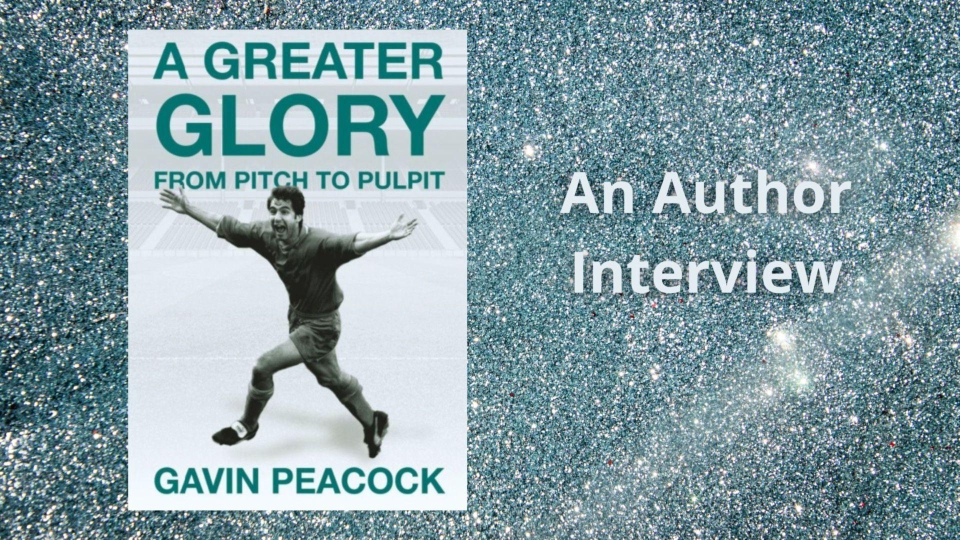 A book by former footballer Gavin Peacock - 'A Greater Glory'