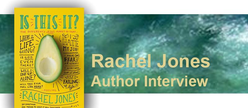 Rachel Jones talks about her new book