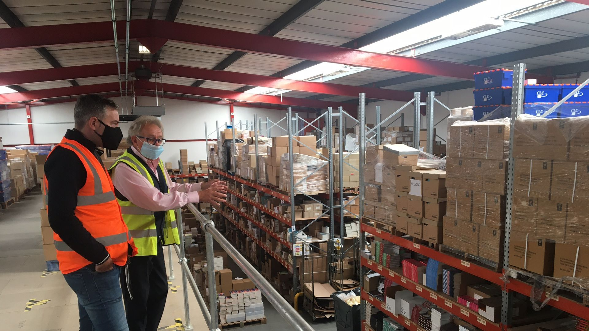Inside the KCLCT warehouse